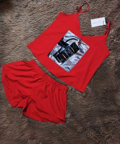 Пижама женская атласная, размер S/M
