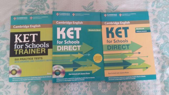 Английский грамматика Ket for schools Trainer, Direct