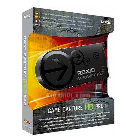 Roxio Game Capture GameCAP HD Pro FULL HD 1080p captura video