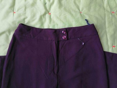 Брюки штаны бордовые сток 46-48