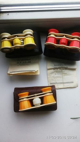 Коллекция биноклей бинокль театральный театральний біноколь