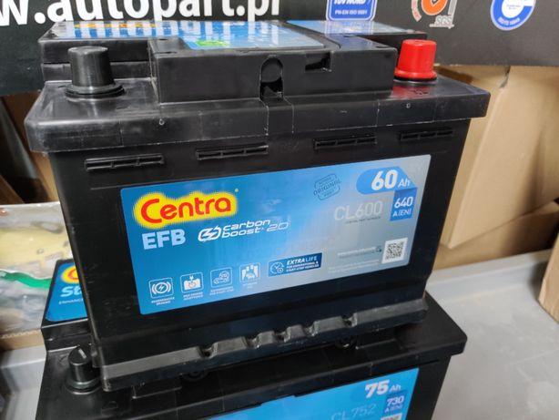 Akumulator Centra EFB Start-Stop CL600 12V 60Ah 640A P+ Kraków EL600