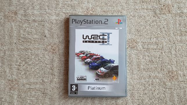 Gra Playstation (PS2) WRC Extreme