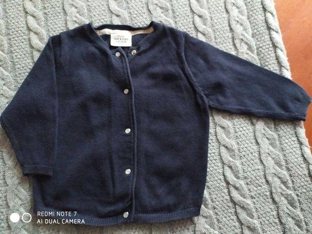 Sweterek dla dziewczynki TAO rozmiar 68