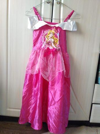 Платье принцесса Аврора Спящая красавица