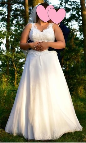Suknia ślubna rozmiar 42-46