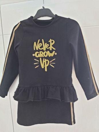 Czarna sukienka dla dziewczynki