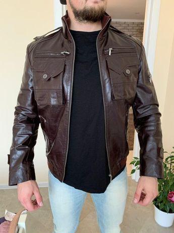 Кожаная мужская куртка DIESEl