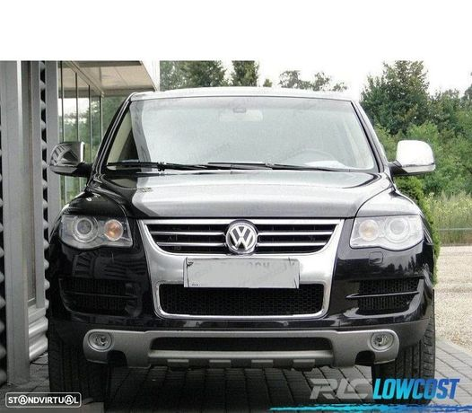 VW TOUAREG SPOILER FRONTAL + DIFUSOR TRASEIRO 02-06