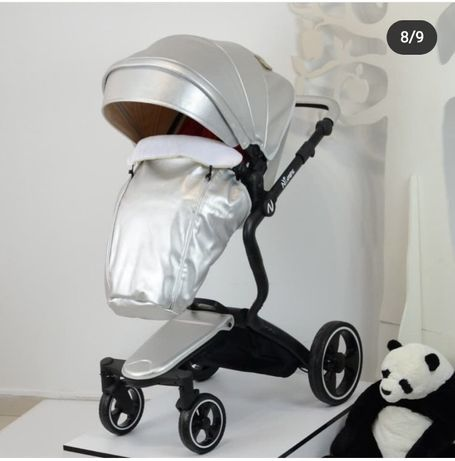 Коляска дитяча Ninos A88 Silver Pearl
