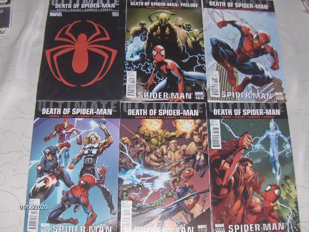 BATMAN, SPIDER-MAN, X-MEN, DEADPOOL -oryginalne komiksy z USA!!!