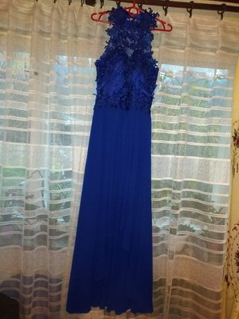 Sukienka - niebieska - na studniówkę