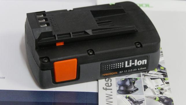 PROTOOL 12v 3Ah bateria akumulator Festool 10,8v wkretarka