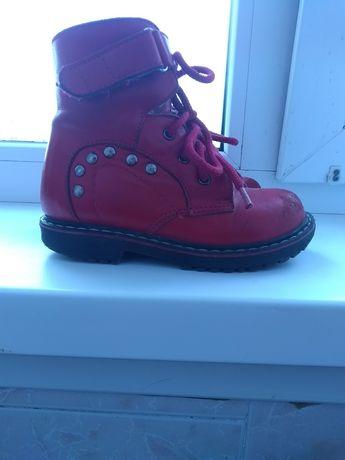 Ортопедические зимние ботинки для девочки ВП-2