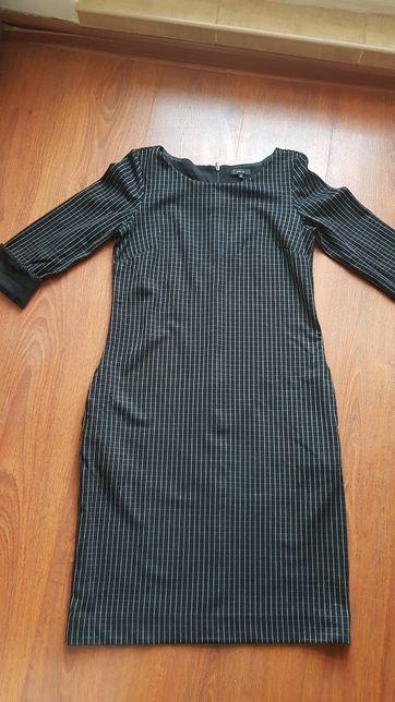 Sukienka w kratkę Solar