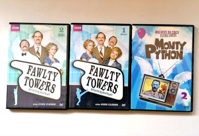 Lote Fawlty Towers e Monthy Python - ler descrição