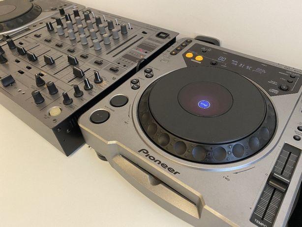 CDJ800 + DJM600 Pioneer
