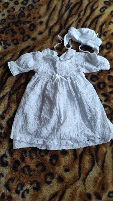 Белое платье на крещение