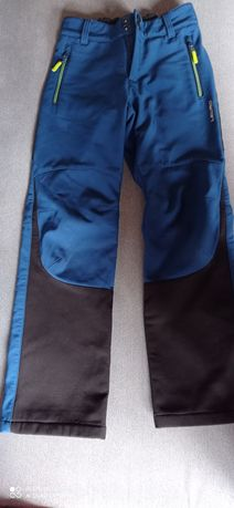 Softshellowe spodnie chłopięce