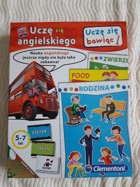 Gra Uczę się angielskiego, dla dzieci 5-7 lat firmy CLEMENTONI