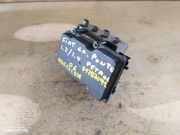 Modulo ABS - Fiat Grande Punto 1.2 / 1.4 Gasolina 188 - 2005 / 2010 - 0265231878