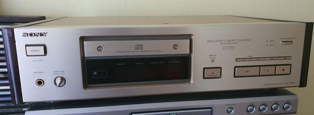 Sony CDP-X77ES stan perfekcyjny w kolorze szampańskim