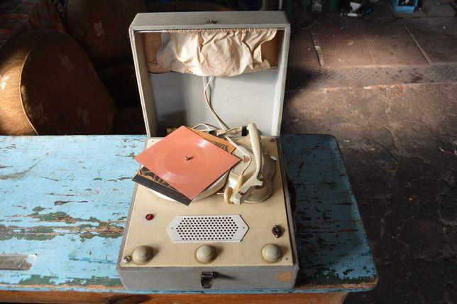 Adapter gramofon Bambino unitra antyk zabytek retro kolekcja PRL