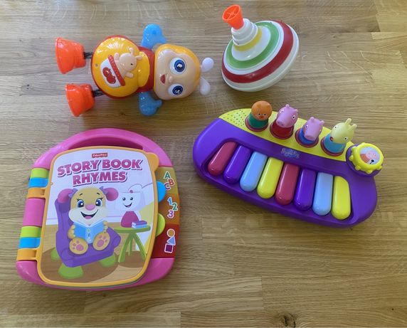 Музыкальные игрушки Fisher Price, Peppa
