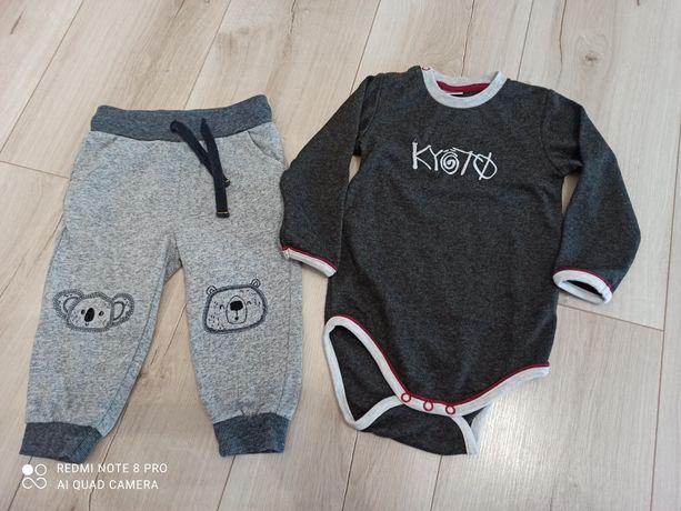 Spodenki i body niemowlęce