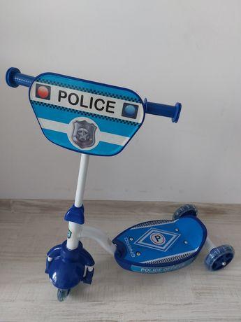 Hulajnoga 3 kołowa Policja
