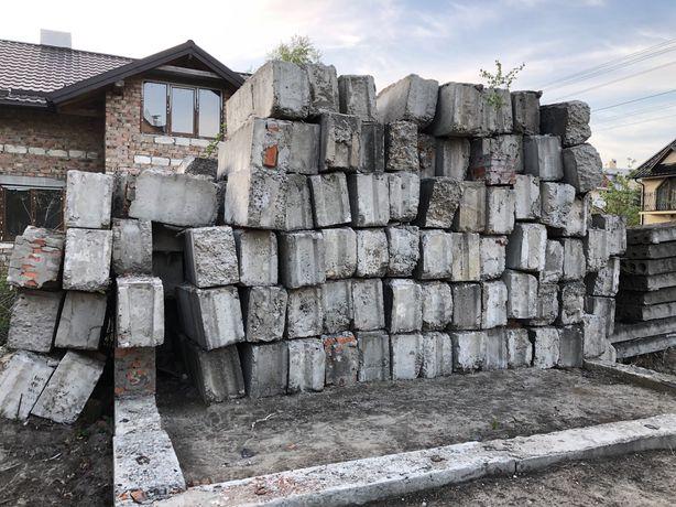 Блок фундаментний