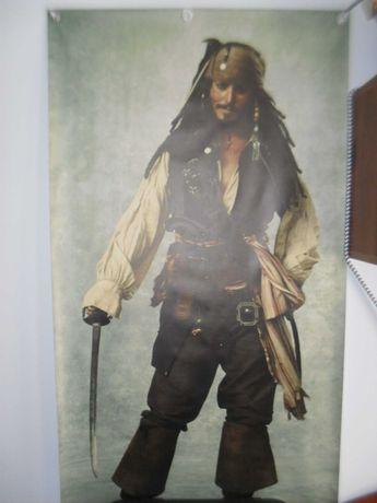 Pirat z Karaibów - plakat legendarnego bohatera