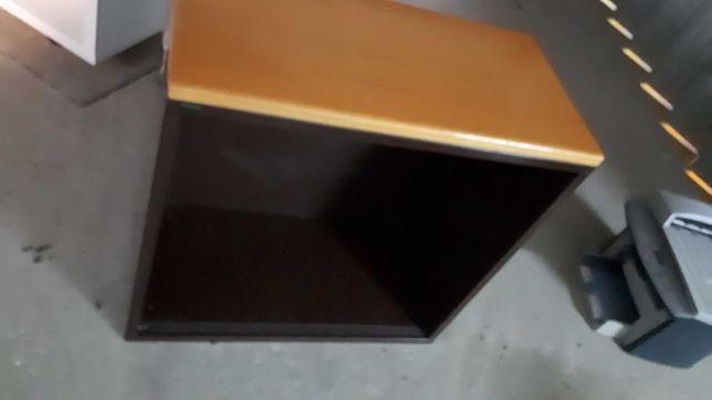 Conjunto de 3 estantes metálicas de escritório
