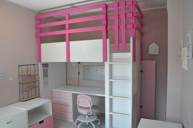 łóżko piętrowe, łóżko dziecięce, antresola