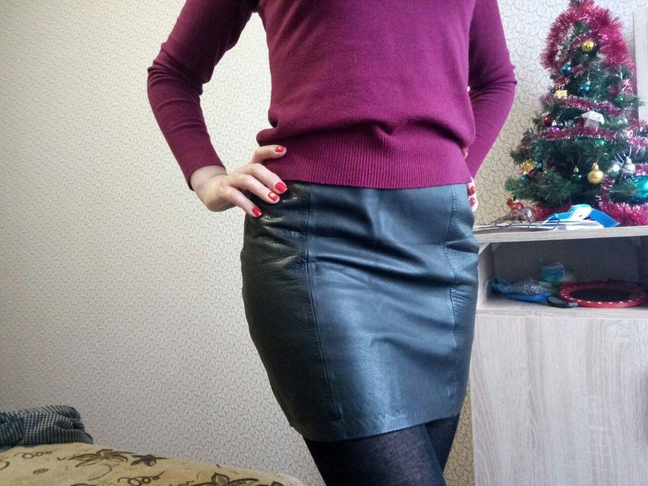 Продается кожаная юбка. Мариуполь - изображение 1
