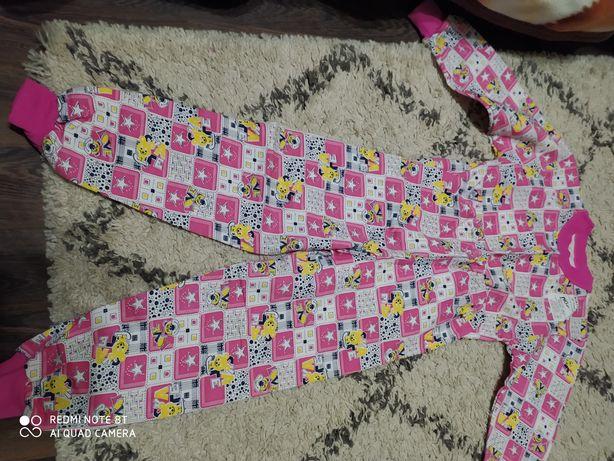 Пижама детская на флисе