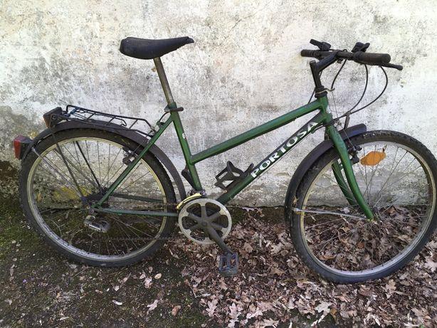 Stary rower górski