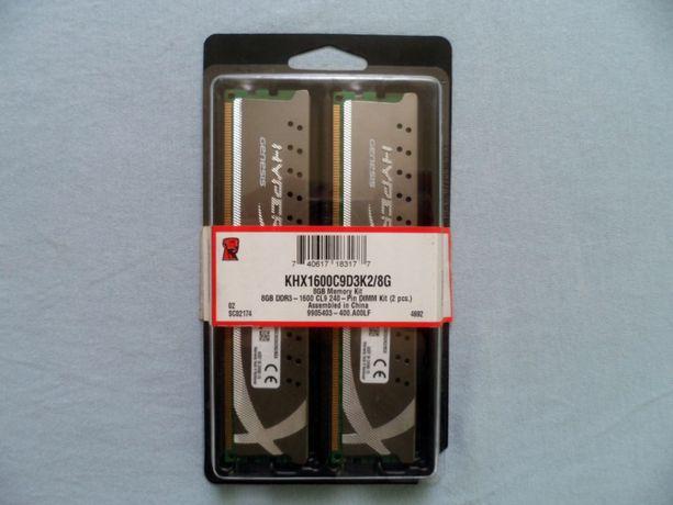 Оперативна пам'ять DDR3 Kingston 2X4Gb