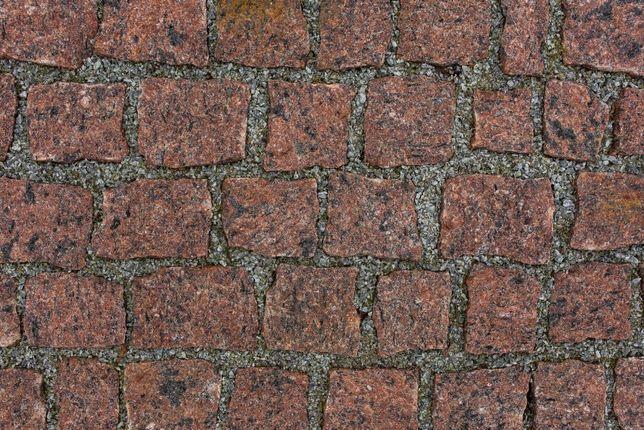 KOSTKA GRANITOWA VANGA Brukowa Kamień na Podjazd 4x6 7x9 8x11 i 10x10