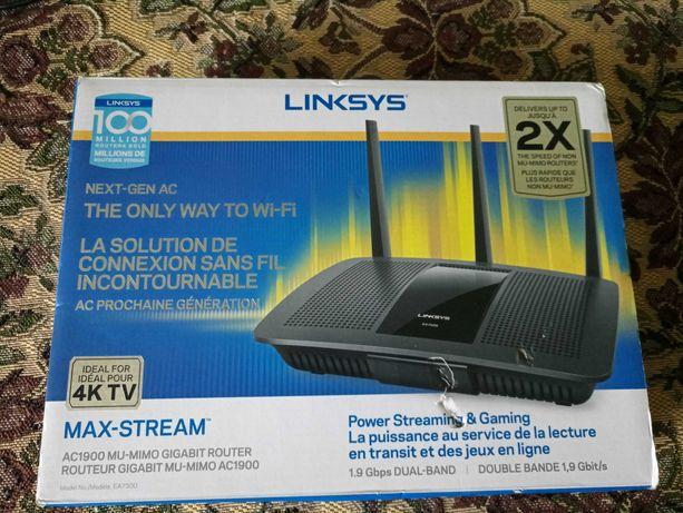 Wi-Fi Роутер Linksys/Сisco EA 6400 | 6900 | 7300 2,4GHz+5GHz+USB 3.0