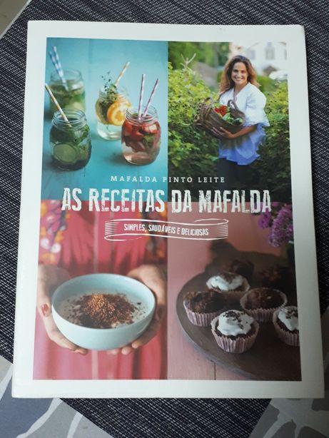Livro Receitas da Mafalda