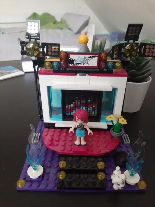 Lego friends - scena z lalką + 6 filmów z serii lego friends Kraków - image 1