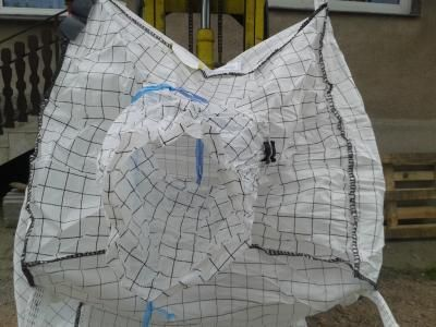 Worki Big Bag jak nowe mocne od 105cm-235cm detal