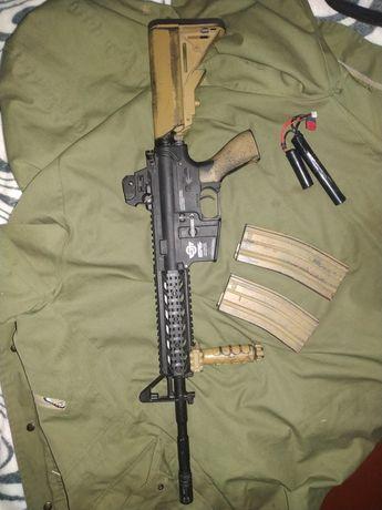 Страйкбольный привод М4 g&g cm 16 raider