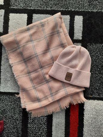 шарф шапка шарфы вязанный