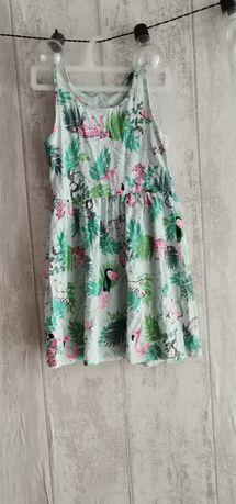 Dwie sukienki dla dziewczynki r 110