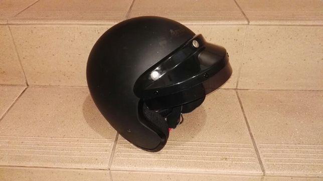 Kask Motocyklowy Arai FREEWAY Classic (czarny mat) XS (Cafe Racer)