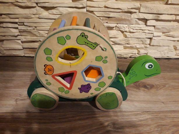 Sorter drewniany żółwik