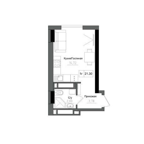 Продам смарт квартиру в Рассрочку на 48 месяцев с Ремонтом