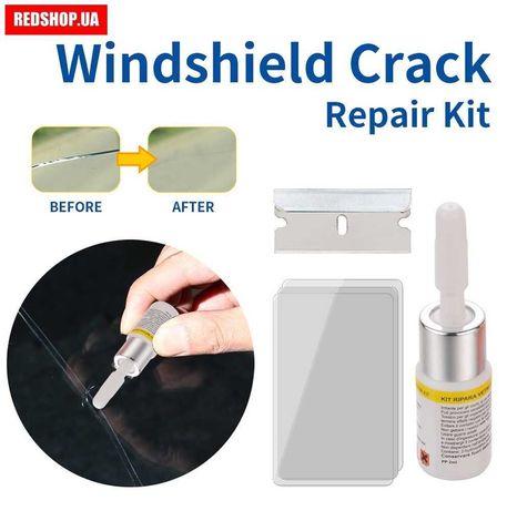 Полимер для ремонта трещин лобового стекла авто Windshield Repair Kit